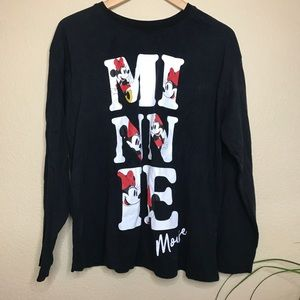 Minnie Mouse long sleeve shirt